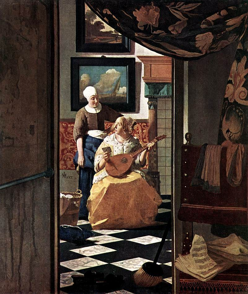Vermeer : Elles écrivent Ou Reçoivent Une Lettre