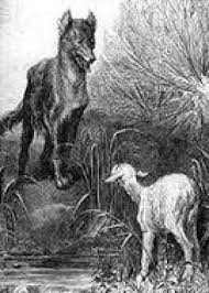Le loup et l'ageau