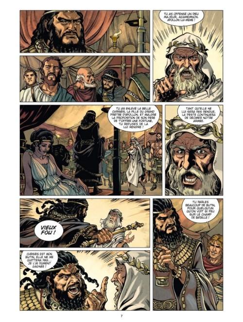 Iliade Calchas Achille