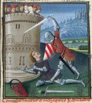 Méléagant et Lancelot